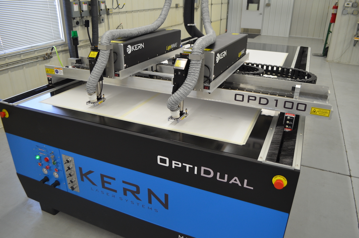 Maximize Your Production Time with a Kern Laser System