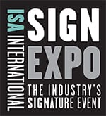 Kern featuring a LaserCELL and OptiFlex at ISA International (Sign Expo)